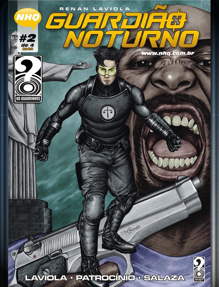 Guardião Noturno 2 - Capa