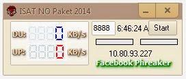 Inject ISAT NO Paket 2014