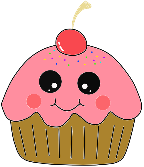 Cowboy Cup Cakes Free Clipart