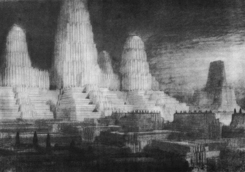 Hugh Ferris. The Metropolis of Tomorrow. Doctor Ojiplático