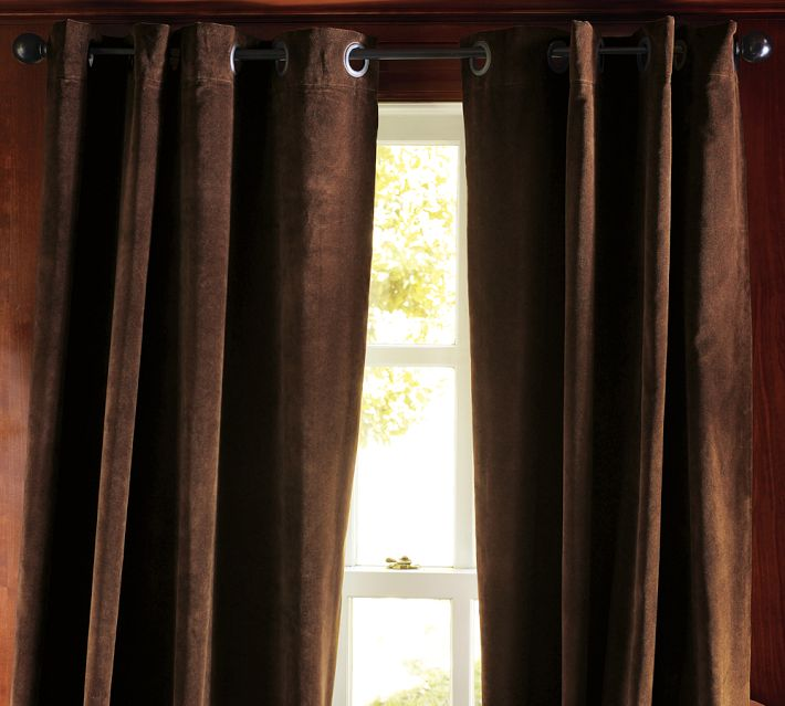 Made Of Metal Grommet Curtains