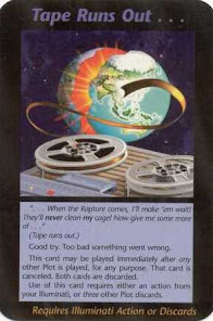 Illuminati Card about the RAPTURE.