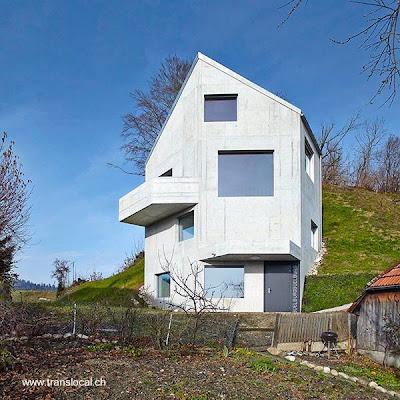 Casa neo moderna en Suiza