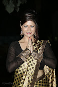 Anchor Shila Chakravarthy latest black saree Photos-thumbnail-7
