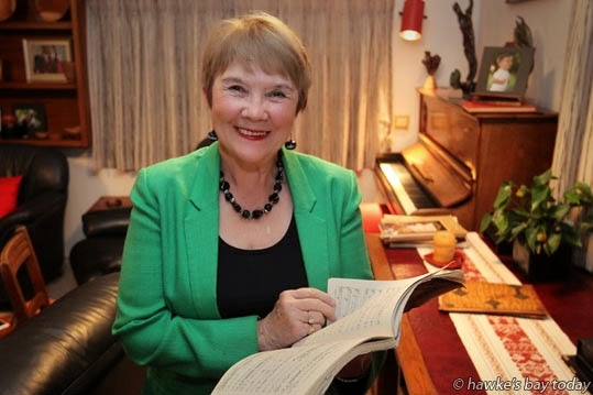 Eileen von Dadelszen QSM, Havelock North, awarded the Queen's Service Medal in the Queen's Birthday Honours photograph