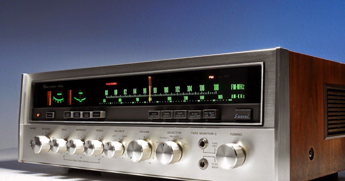 golden age of audio sansui seven stereo receiver. Black Bedroom Furniture Sets. Home Design Ideas