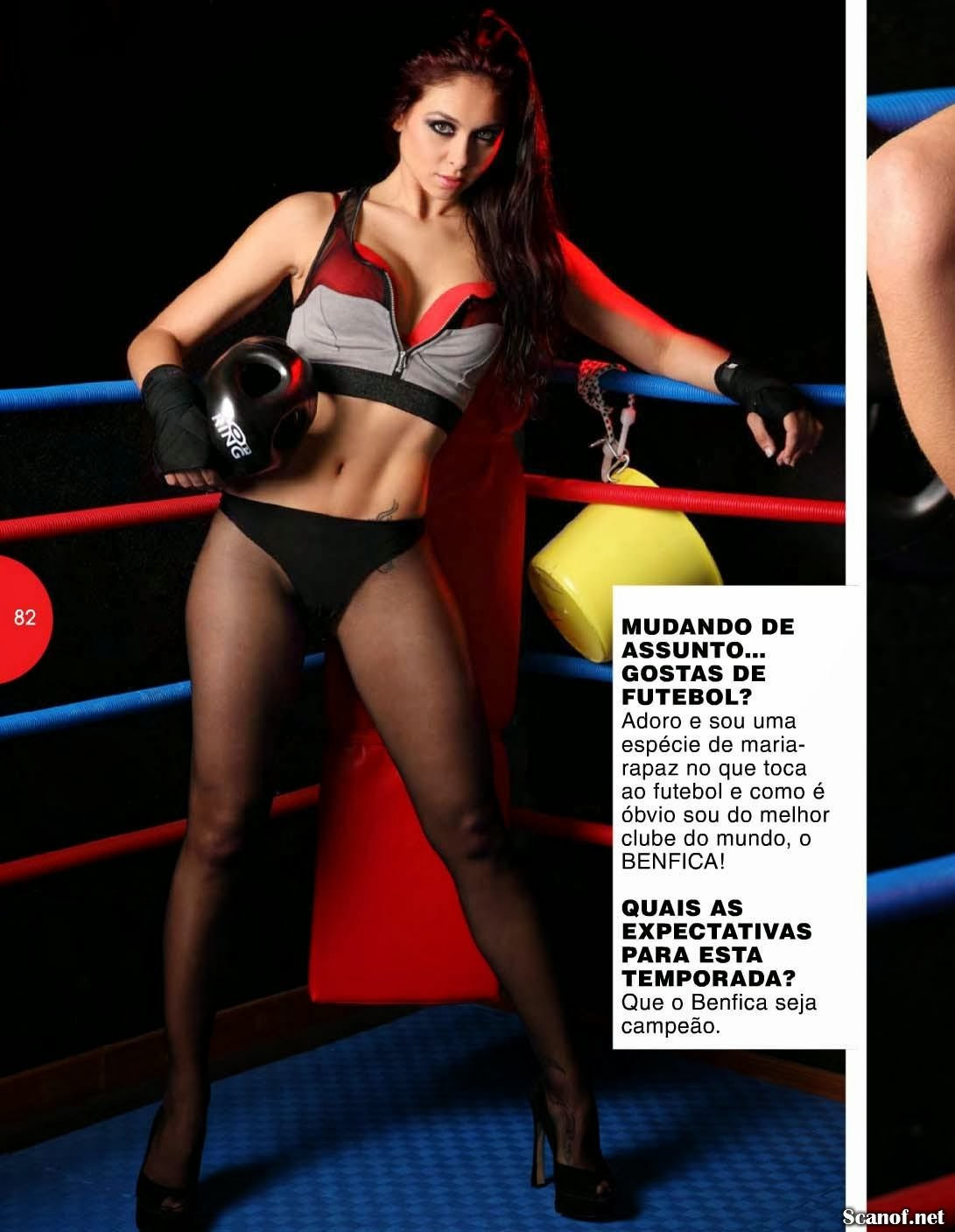 Daniela Macario HQ Pictures Hot Portugal Magazine Photoshoot March 2014