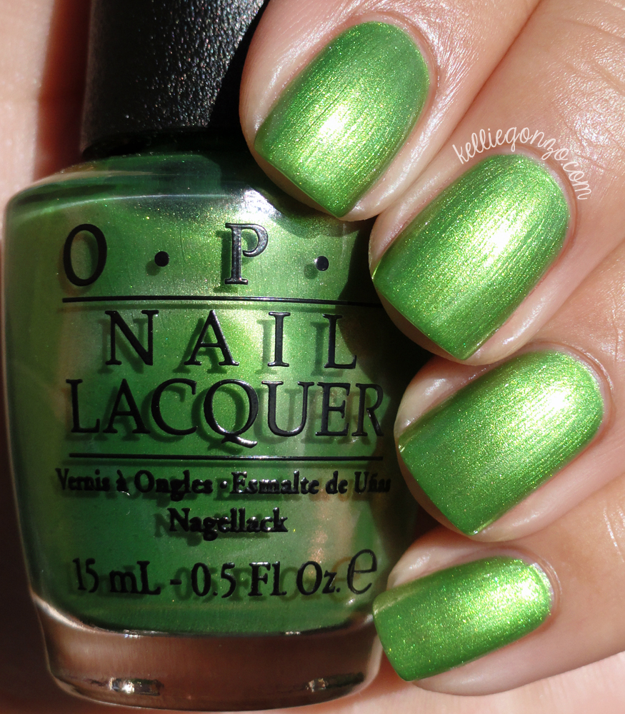 OPI My Gecko Does Tricks Hawaii Collection