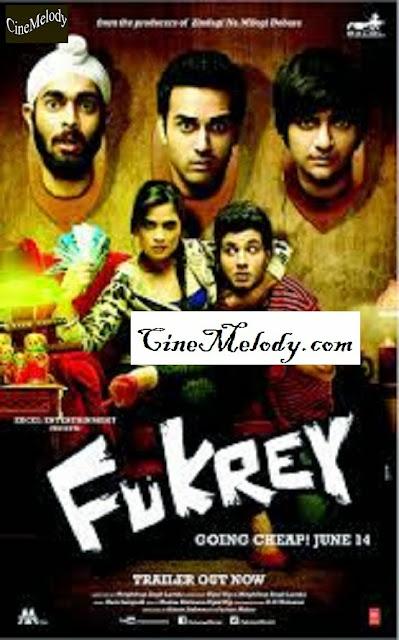 Fukrey  Hindi Mp3 Songs Free  Download  2013