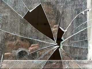 caco de vidro