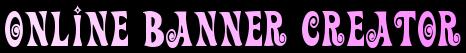 Online, Banner, Creator