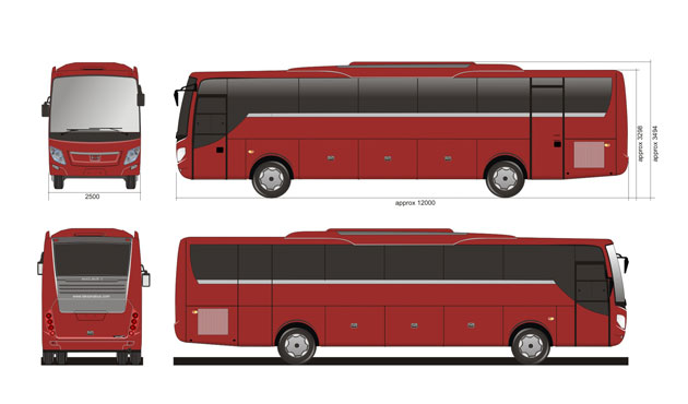 Nucleus 3 by Laksana Intercity Bus