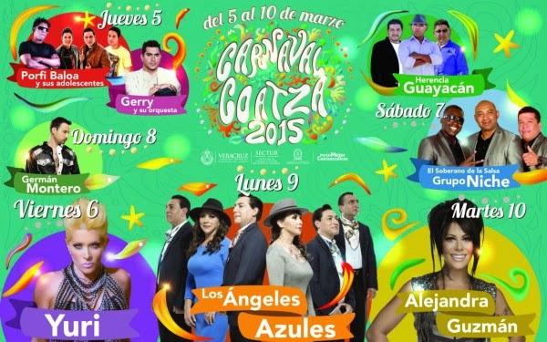 Carnaval Coatzacoalcos 2015