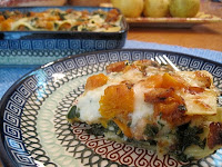 Gluten Free Roasted Butternut Squash Lasagna - by Celiacs in the House