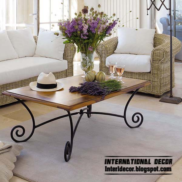 Wrought Iron Sofas, Iron Forged Furniture Designs For Living Room Part 9
