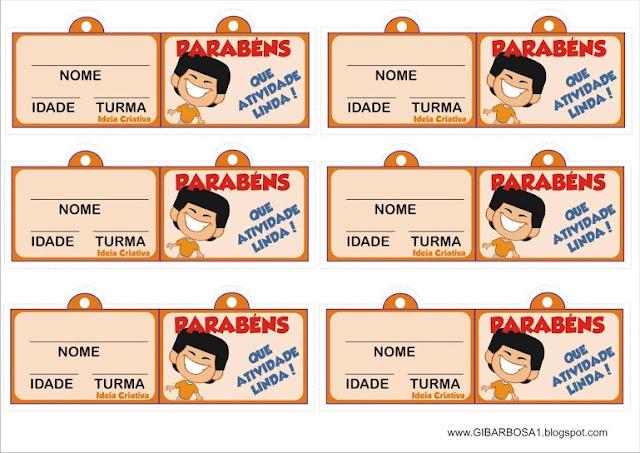 Incentivos Tags para Meninos Personagens Galinha Pintadinha
