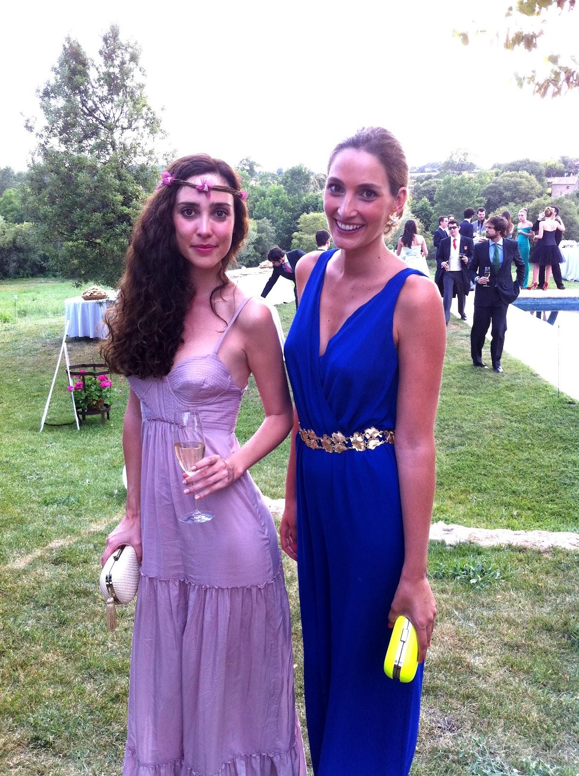 Look Espía Invitada: Blue jumpsuit Invitadas, Look Espía Invitadas ...