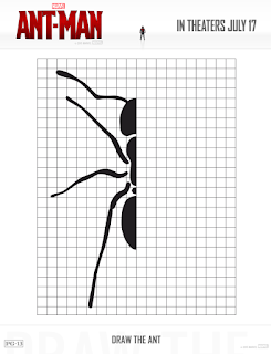 ant man free activity sheet draw the ant free printable
