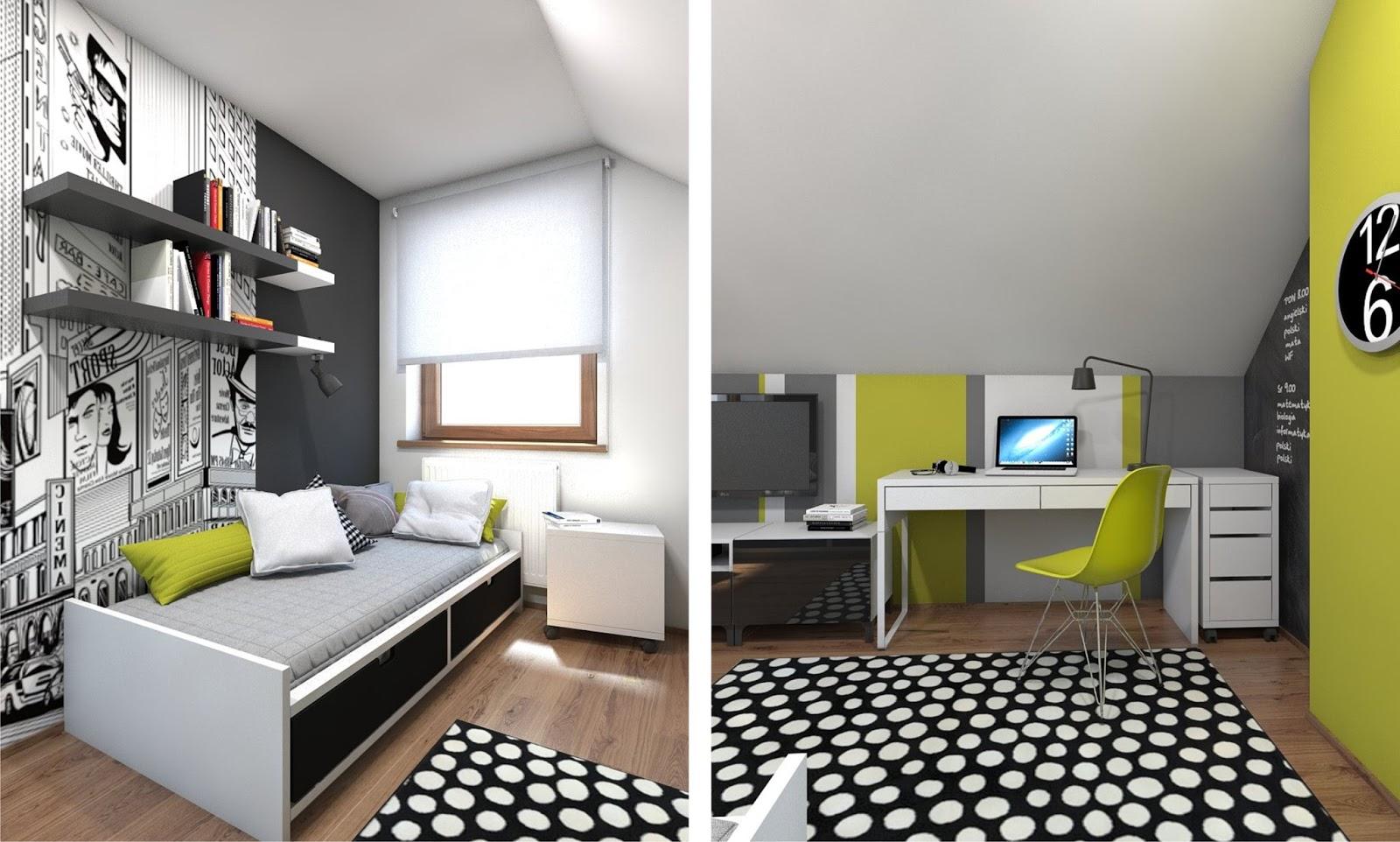 Aja handmade pok j dla nastolatka for Habitaciones para ninas adolescentes modernas