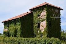 La casa sommersa dal verde