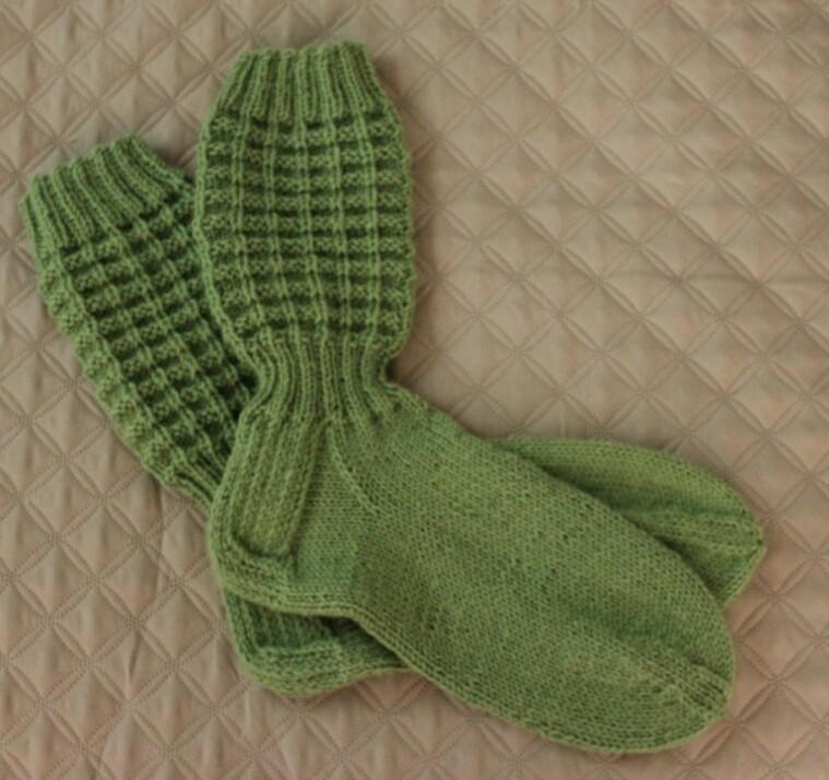 miesten sukat ohje