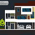 مخطط مشروع مسكن عائلي بشكل جميل اوتوكاد dwg