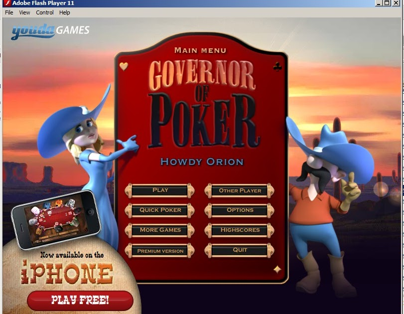 free flash poker game download