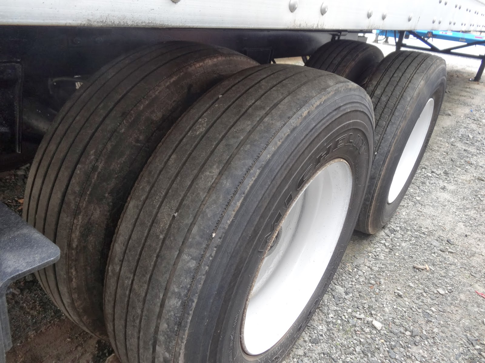 What is good tire depth for used semi trailers or dry vans