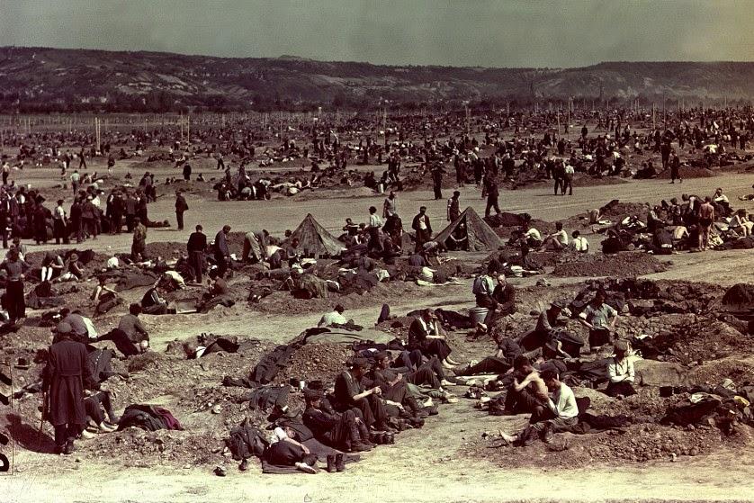 Hellstorm: Exposing The Real Genocide Of Hitler's Germany   German%2BPrisoners%2BOf%2BWar%2BCamp