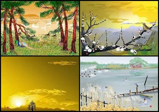 beautiful Japanese art