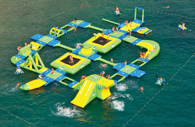 SmileCampus Real Water Playgrounds