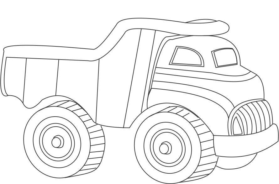 Coloring Transportation For Toddlers
