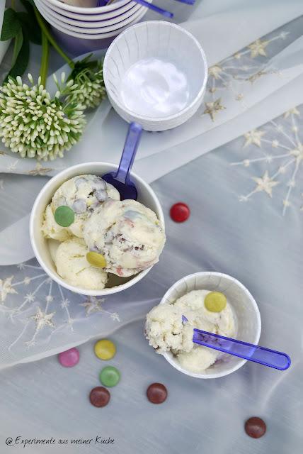 Experimente aus meiner Küche: Smarties-Eis