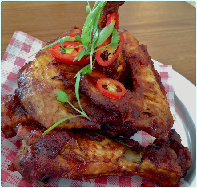 Jamie Oliver's Diner, London - Wings