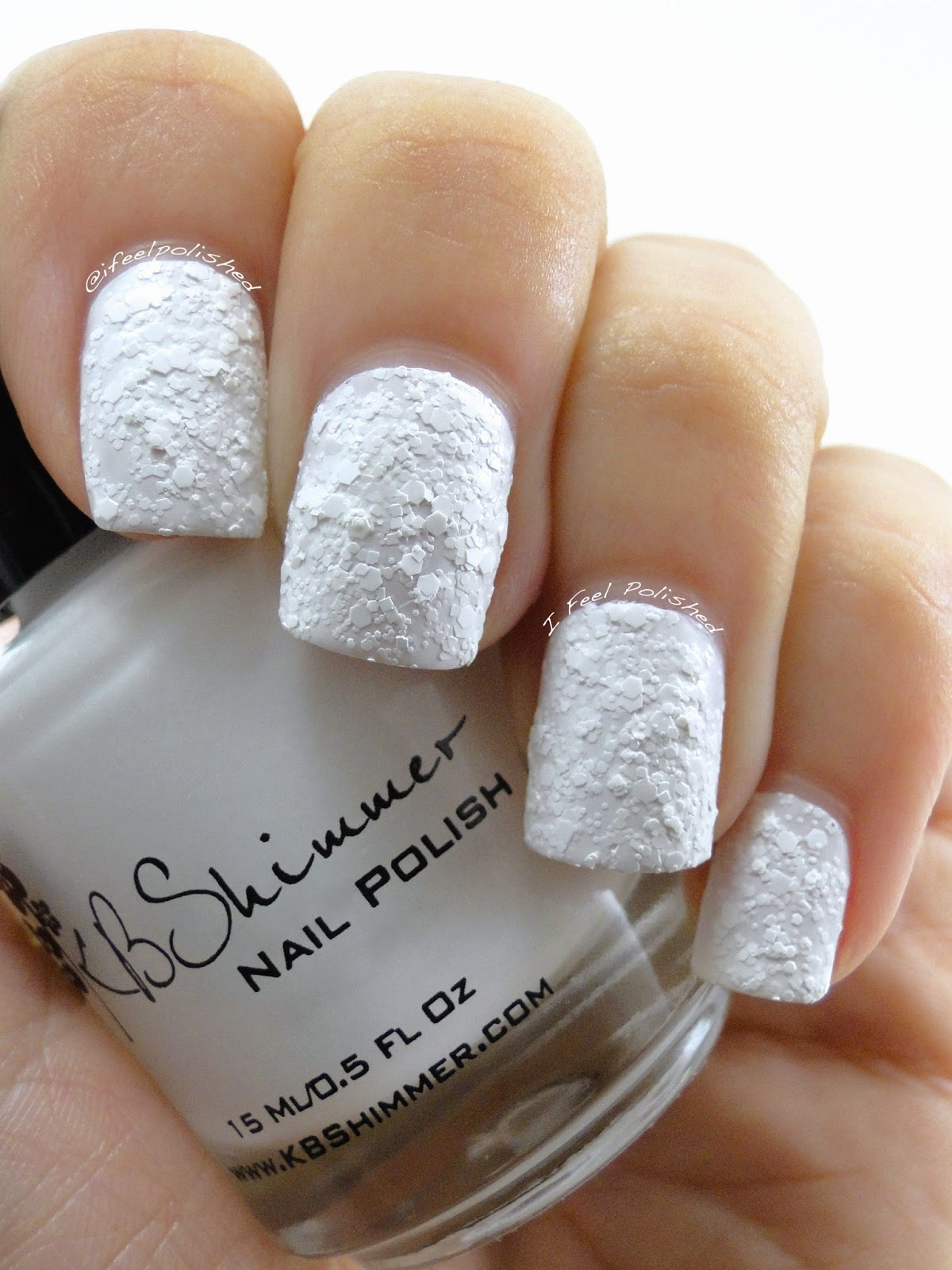 KBShimmer White Here White Now