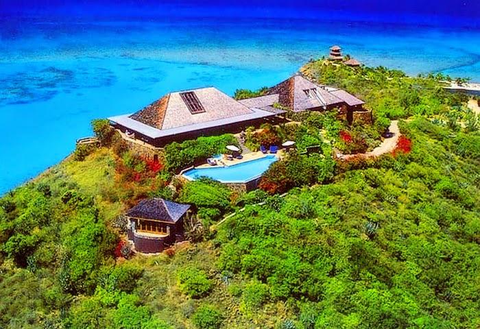 world visits necker island british virgin islands in