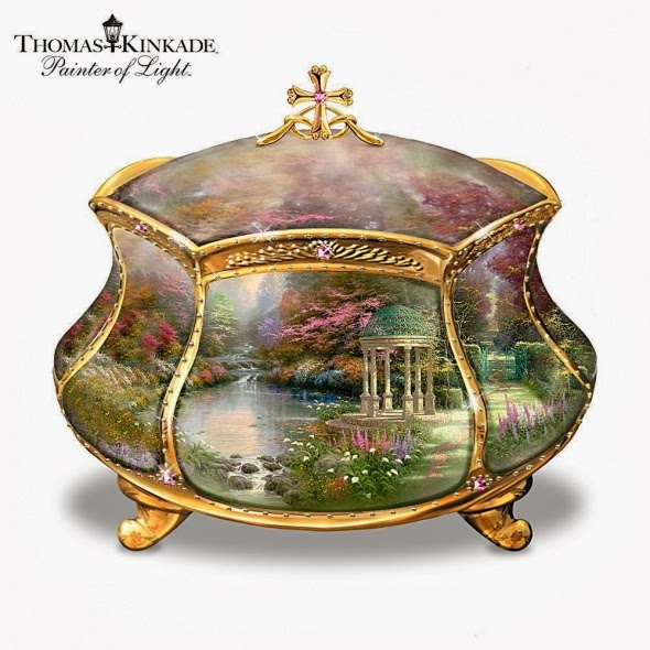 http://www.squidoo.com/thomas-kinkade-music-boxes-and-more