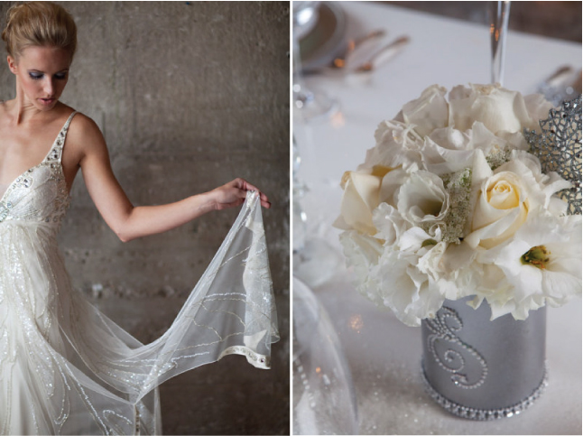 Winter Wonderland Wedding Makeup : Glamorous Winter Wonderland Wedding Inspiration - Belle ...