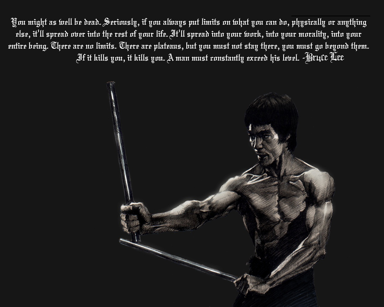 Inspiration bruce lee the legend of martial arts