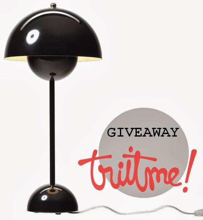 Giveaway Flowerpot lamp!