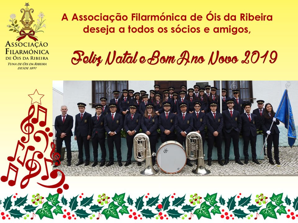 TUNA MUSICAL DE ÓIS DA RIBEIRA / AFOR A CANTAR OS REIS!