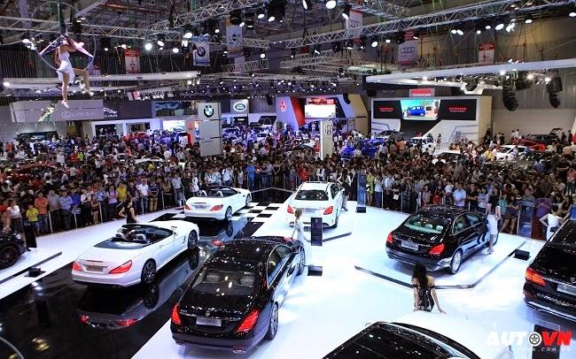Mercedes-Benz Việt Nam tại VMS 2014