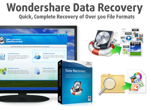 برنامج Wondershare Data Recovery