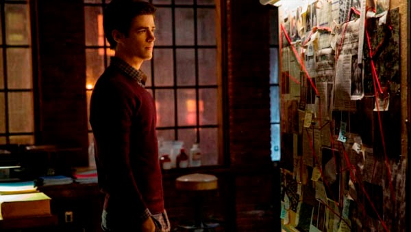 Grant Gustin en The Flash 1x01