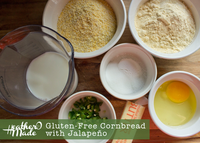 Gluten-Free Cornbread with Jalapeño recipe