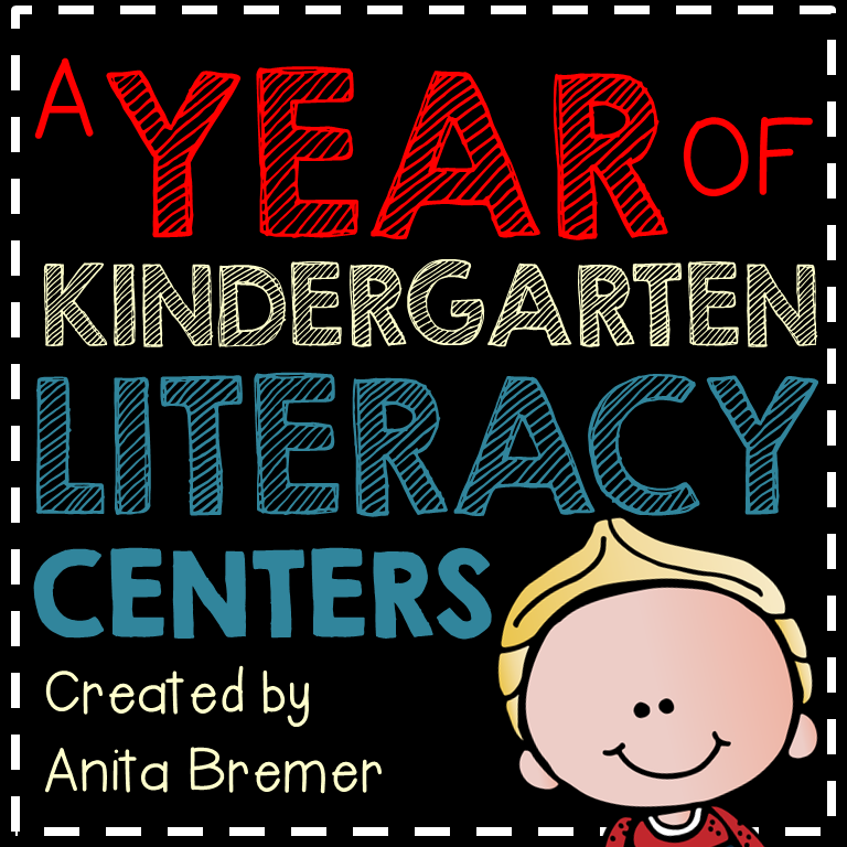 A YEAR OF LITERACY CENTERS