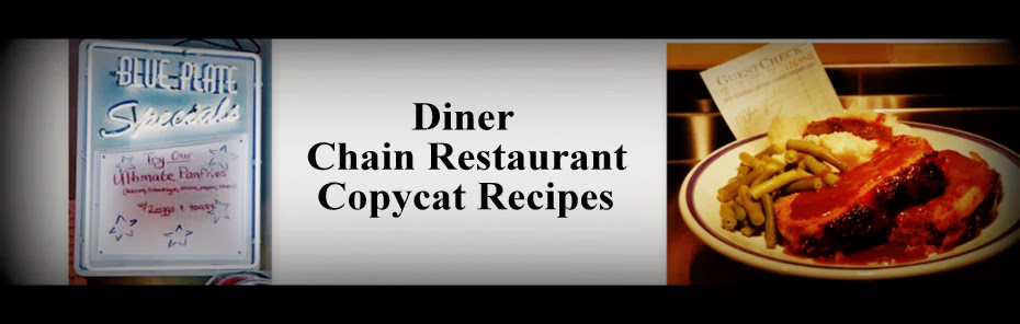 Roadside Diner Restaurant Recipes