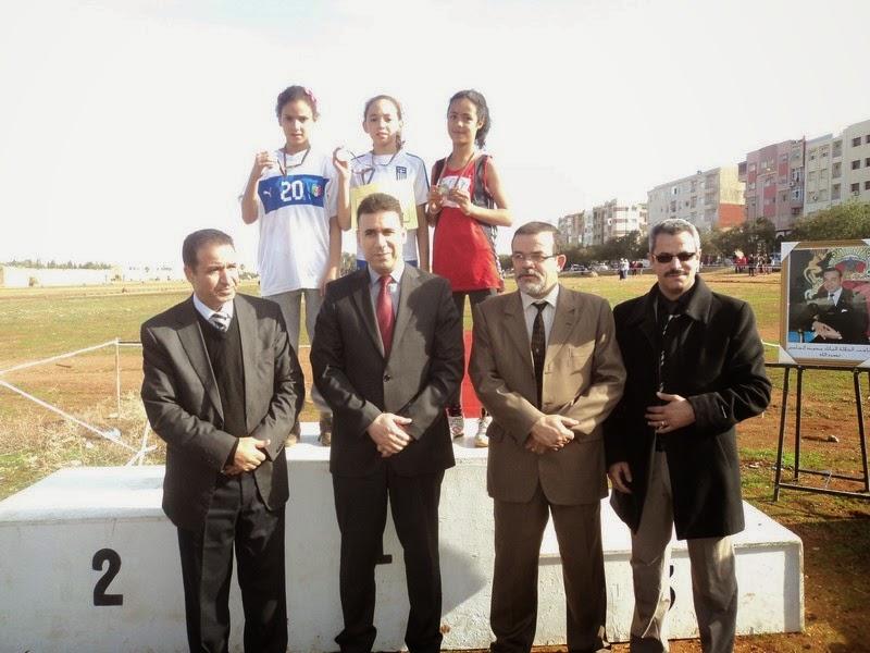 النيابة الإقليمية لوزارة التربية الوطنية بمكناس تنظم البطولة الإقليمية للعدو الريفي المدرسي
