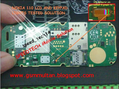 All Latest Hardware Solution Nokia 110 Lcd Light Solution