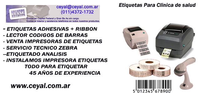 Etiqueta rollo 64 x 32 Ramos Av Avellaneda